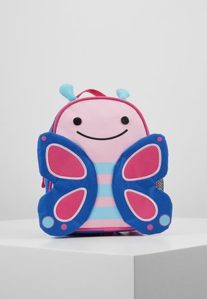 LET BACKPACK BUTTERFLY - Ryggsäck - pink