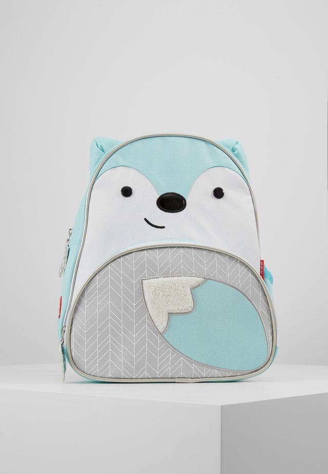 WINTER ZOO FOX - Tagesrucksack - winter blue