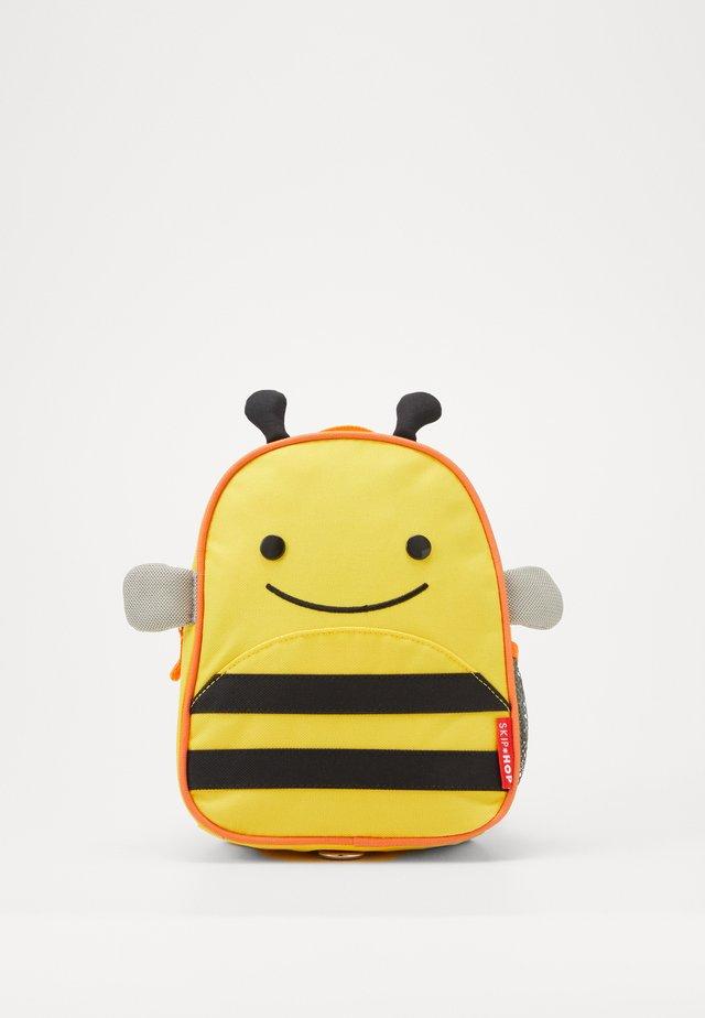 ZOO LET BEE - Sac à dos - yellow/black