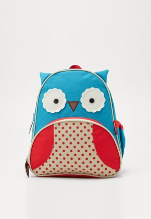 ZOO PACK OWL - Rygsække - blue/red