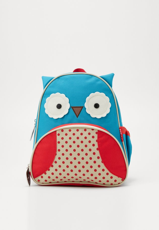 ZOO PACK OWL - Rucksack - blue/red