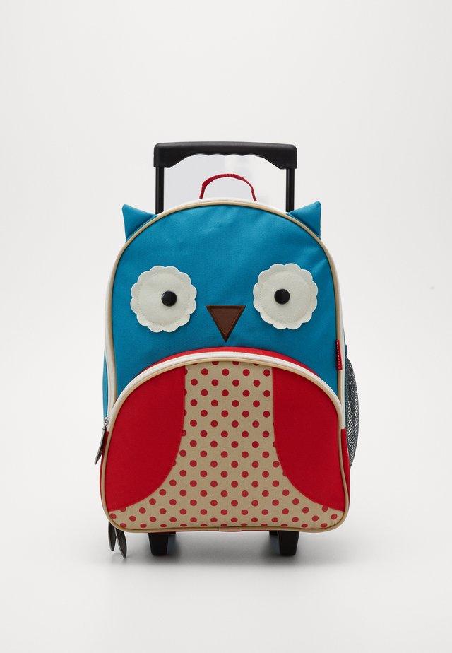 ZOO OWL - Trolleyväska - blue