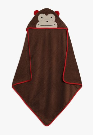 HOODED TOWELS MONKEY - Accessoires - brown
