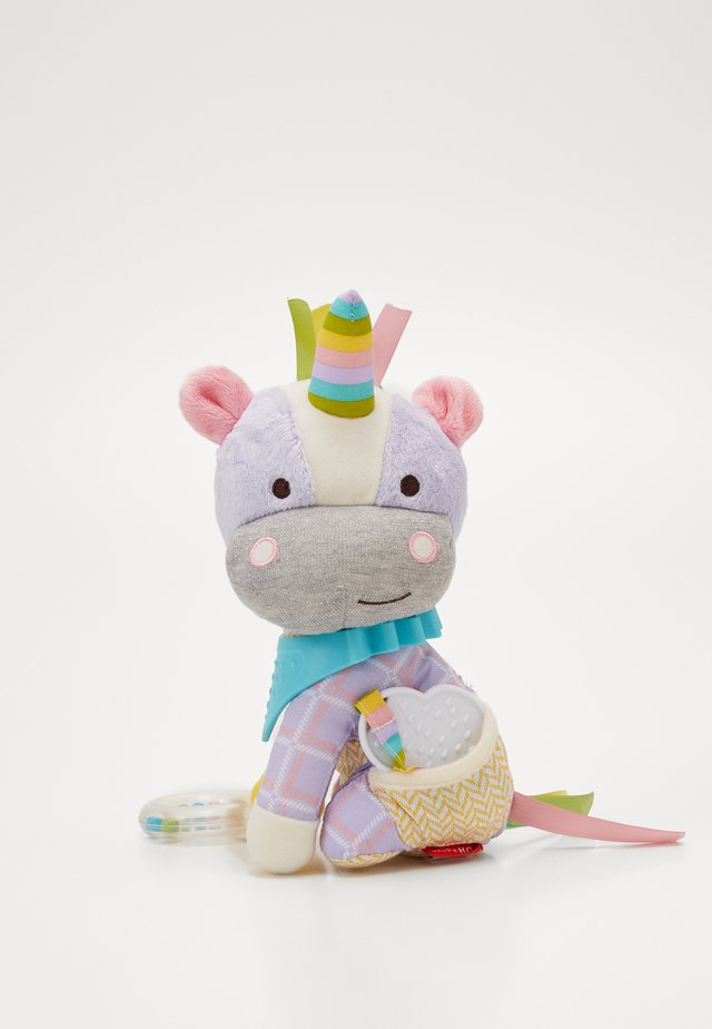 BANDANA BUDDIES UNICORN - Cuddly toy - multi-coloured/grey