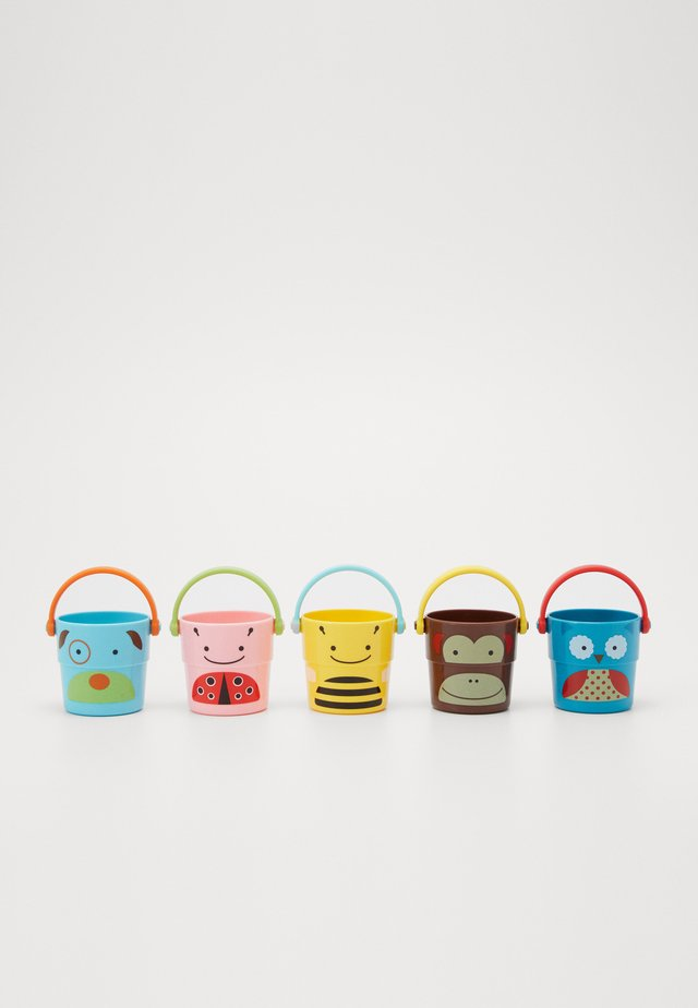 ZOO STACK & POUR BUCKETS 5 PACK - Legetøj - multi-coloured