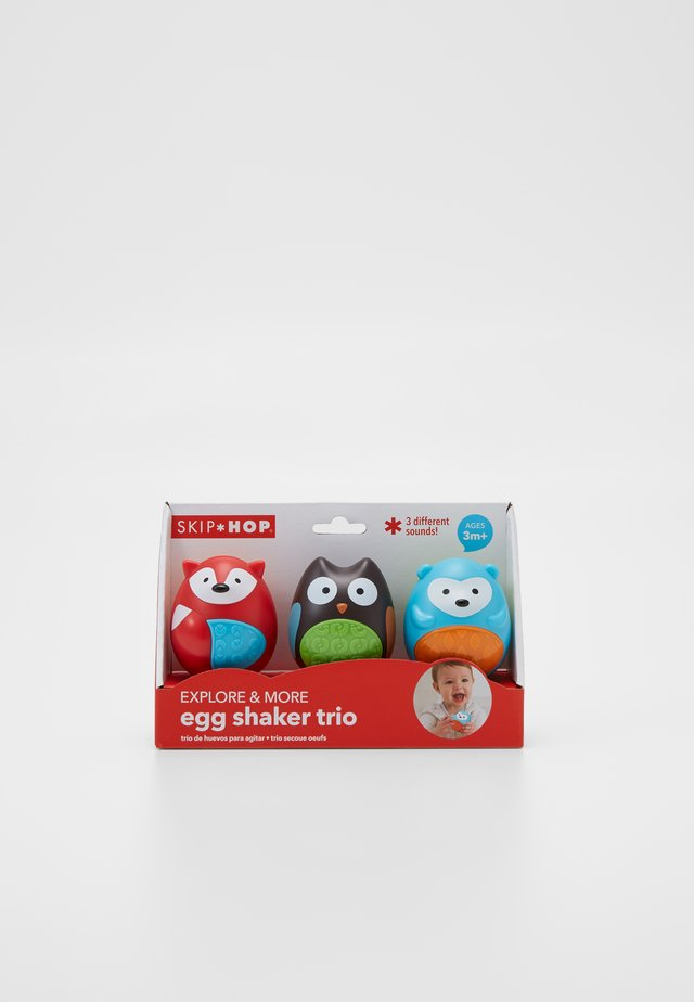 EGG SHAKER TRIO - 3 PACK - Spielzeug - multi-coloured