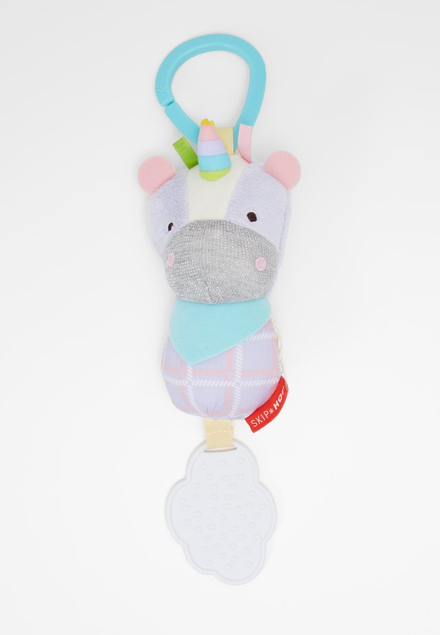 BANDANA BUDDIES CHIME BUDDIES UNICORN - Cuddly toy - blue/purple