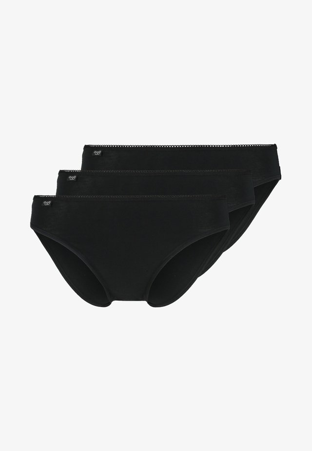 3 PACK - Underbukse - black