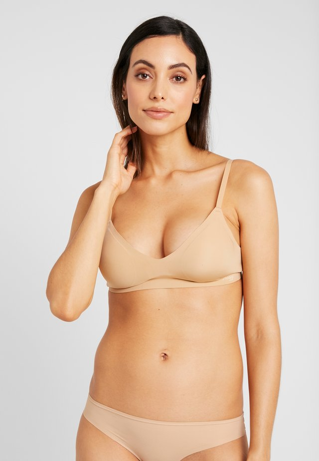 FEEL ULTRA BRA - Triangel-BH - cognac