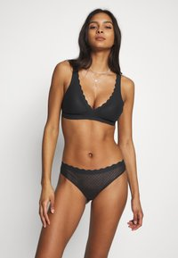 Sloggi - FEEL BRALETTE - Topp - black - 1