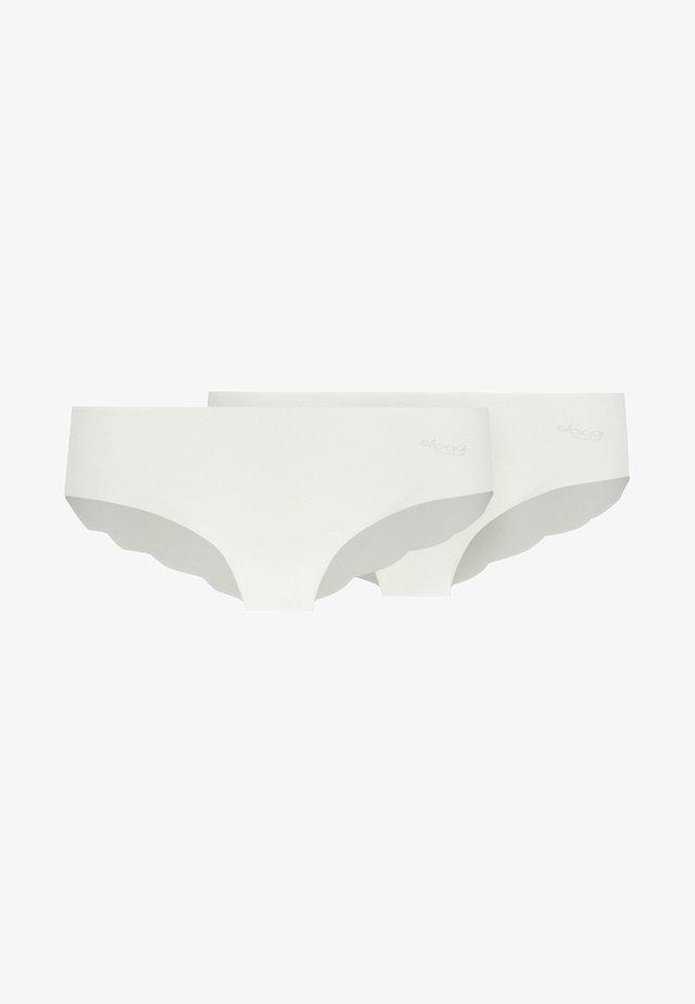 HIPSTER 2 PACK - Braguitas - white