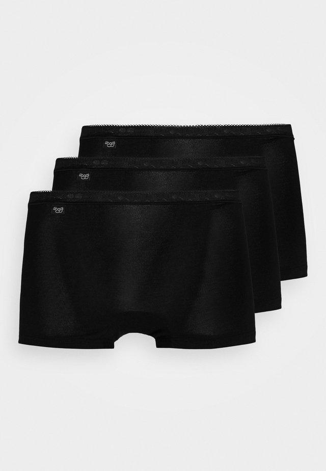 BASIC 3 PACK - Culotte - black