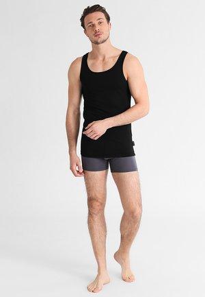 24/7 2 PACK - Unterhemd/-shirt - black