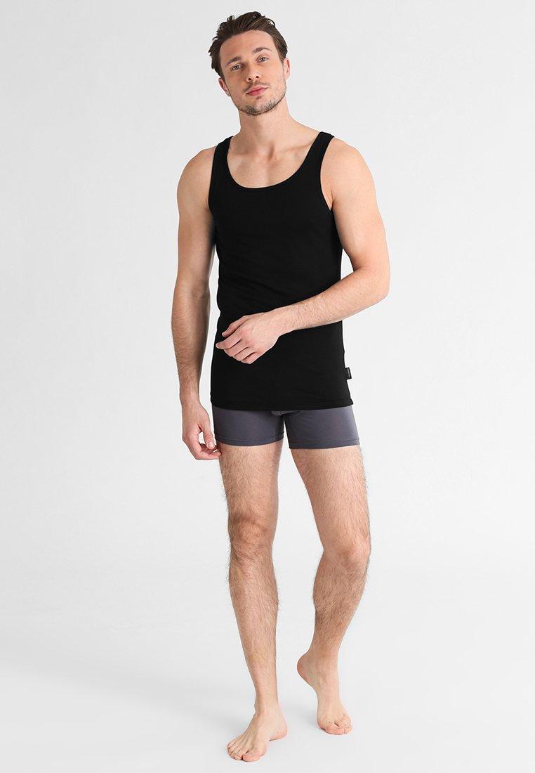 Sloggi - 24/7 2 PACK - Unterhemd/-shirt - black