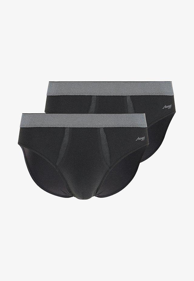 2 PACK - Slip - black