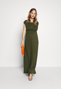 Slacks & Co. - AMELIA - Maxi dress - khaki - 1