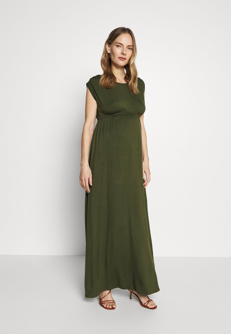 Slacks & Co. - AMELIA - Maxi dress - khaki