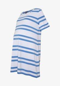 Slacks & Co. - VERONIKA - Jersey dress - sky blue/white - 3
