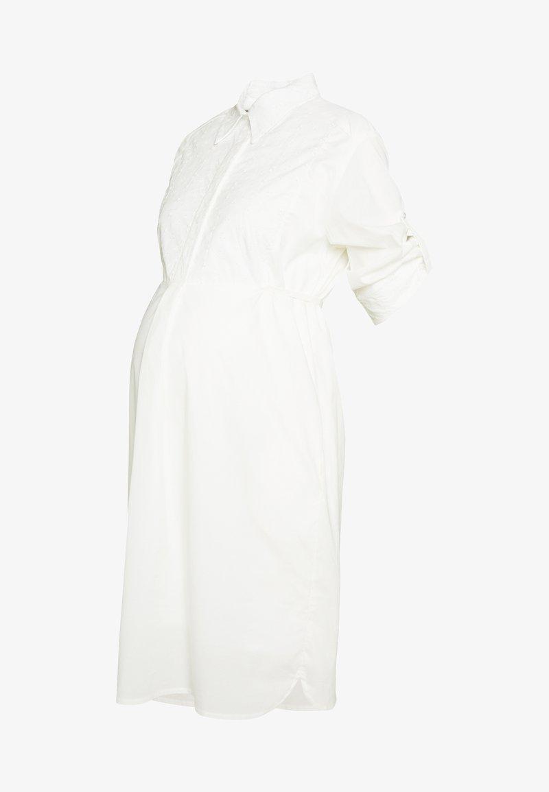 Slacks & Co. - MADRID - Košilové šaty - white
