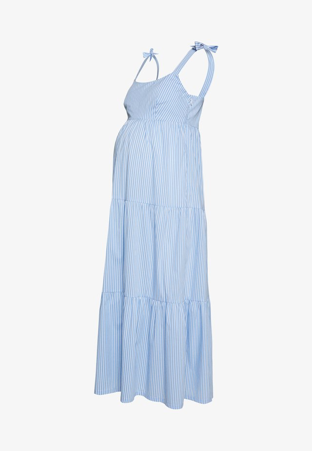 MARISSA - Day dress - blue/white