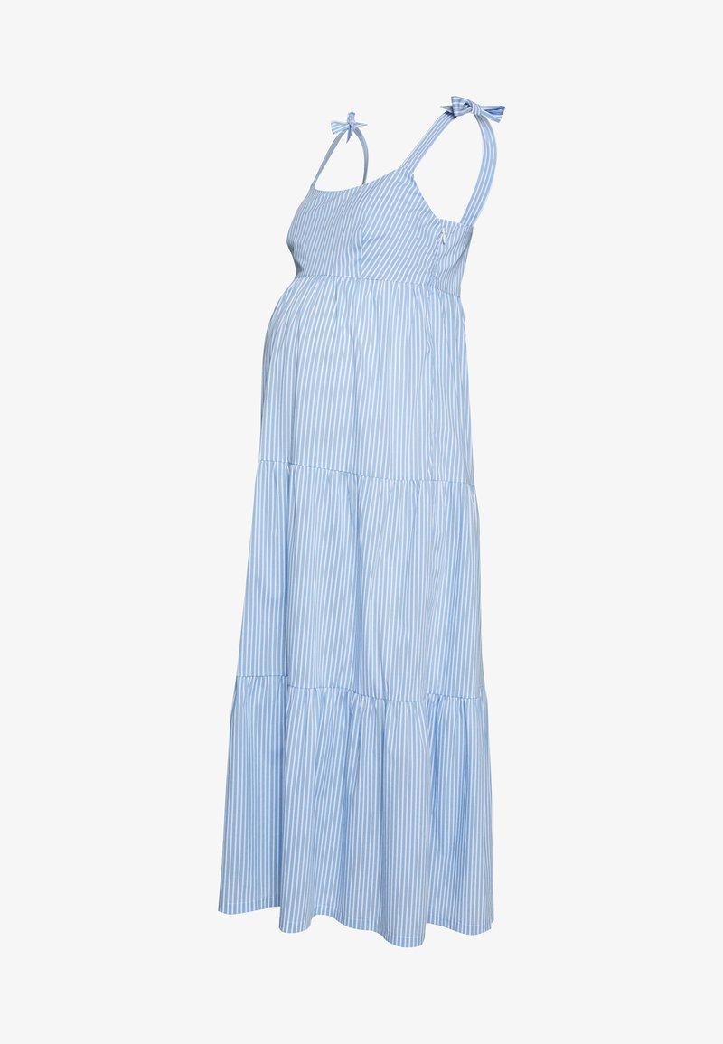Slacks & Co. - MARISSA - Denní šaty - blue/white