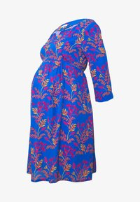 Slacks & Co. - AVERY - Day dress - floral leaf blue - 5