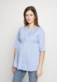 Slacks & Co. - CAIRO - Blouse - blue/white - 0