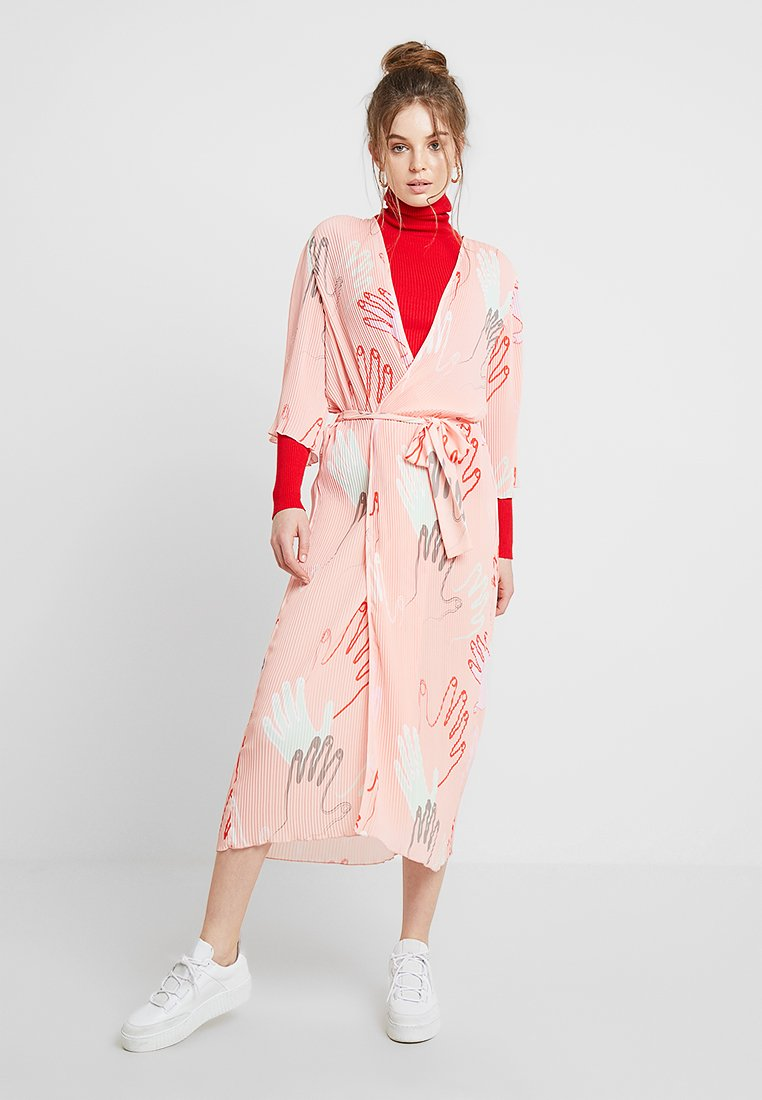 Storm & Marie - JAYLA WRAP - Maxi dress - peach
