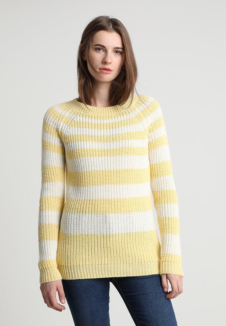 Storm & Marie - AIA - Trui - yellow/white