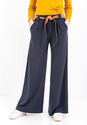 AMANDA - Trousers - navy