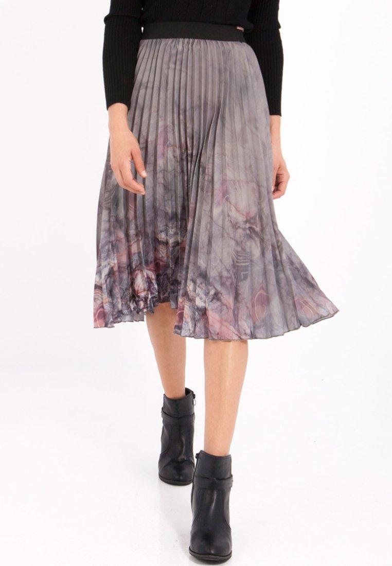 Smash - LUZY - Pleated skirt - grey