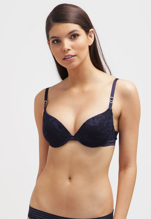 Push-up bra - dark ink blue