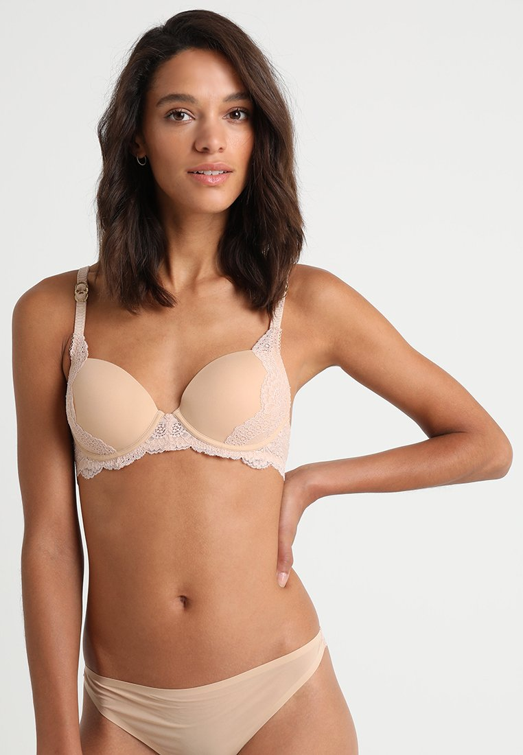 Stella McCartney Lingerie - SMOOTH CONTOUR PLUNGE - Push-up podprsenka - nude