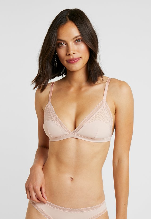 EMMA LOVING SOFT CUP - Triangle bra - rose