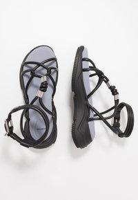 Sportmax - DIRETTA - Platform sandals - nero - 1
