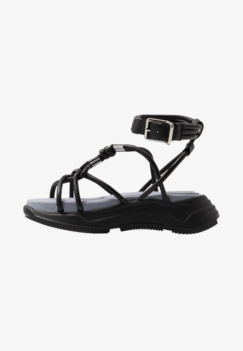Sportmax - DIRETTA - Platform sandals - nero