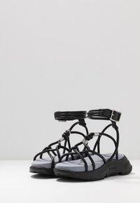 Sportmax - DIRETTA - Platform sandals - nero - 2