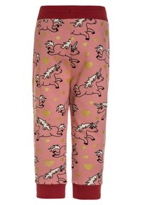 Småfolk - WITH UNICORN - Tracksuit bottoms - blush - 1
