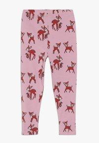 Småfolk - WITH DEER - Leggings - Trousers - sea pink - 1