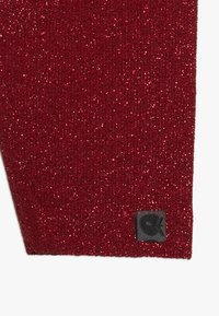 Småfolk - LEGGINGS GLITTER - Leggings - Trousers - dark red - 3