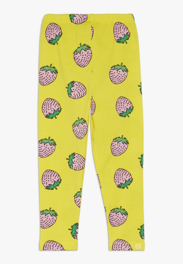 STRAWBERRY - Legging - yellow