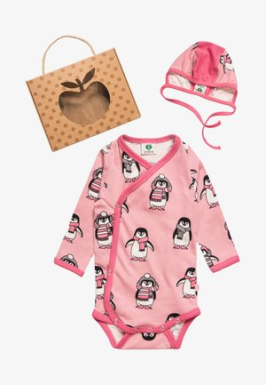 BABY MÜTZE BOX SET - Regalo per nascita - pink