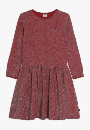 DRESS GLITTER SOLID - Cocktail dress / Party dress - dark red