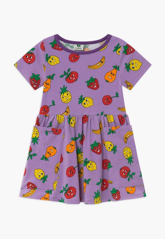FRUITS - Vestito di maglina - viola