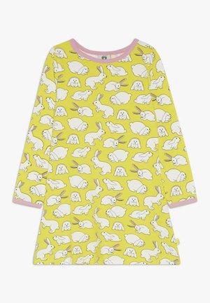 DRESS RABBIT - Jersey dress - yellow