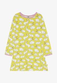 Småfolk - DRESS RABBIT - Žerzejové šaty - yellow - 2