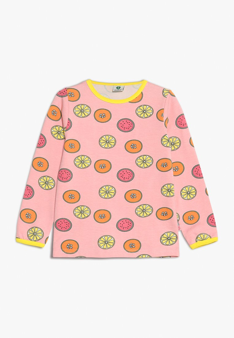 Småfolk - WITH FRUITS - Camiseta de manga larga - silver pink
