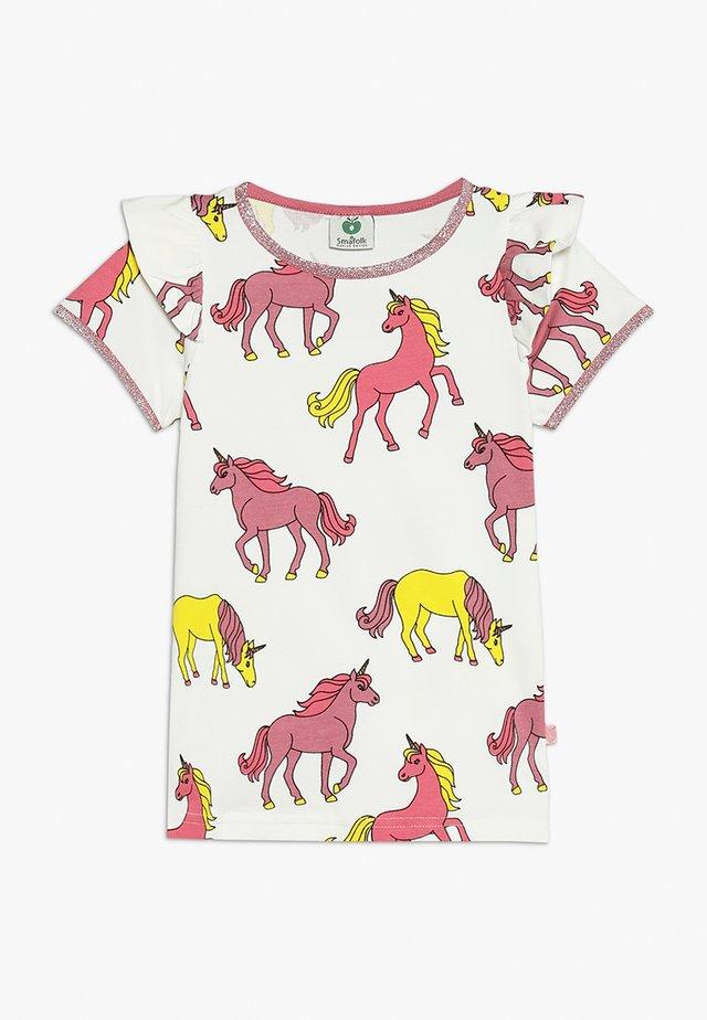 UNICORN - T-shirt print - cream