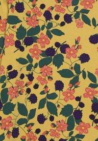 Småfolk - WITH FLOWERS - Long sleeved top - ochre - 3