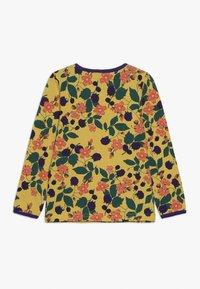 Småfolk - WITH FLOWERS - Long sleeved top - ochre - 1